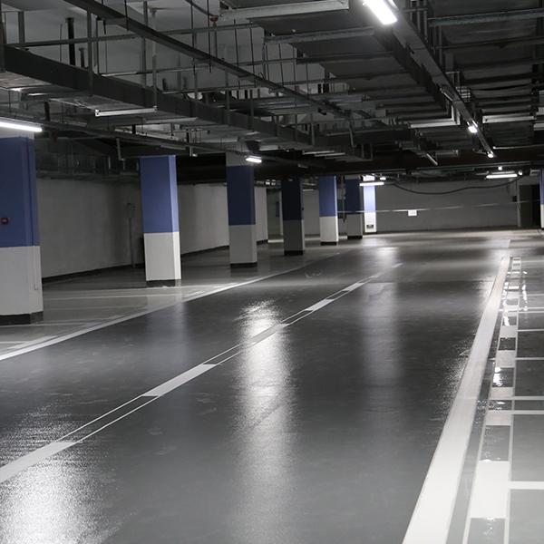 桔皮止滑型环氧地坪漆系统