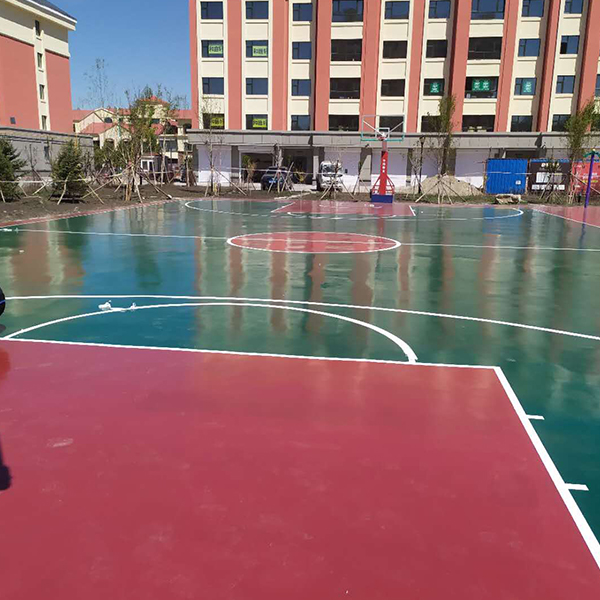 篮球场户外聚氨酯
